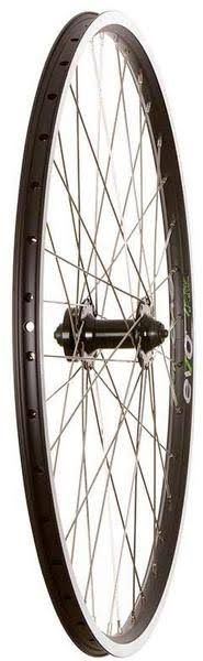 The Wheel Shop, Evo E-Tour 19 Black / Stainless Wheel, Front, 27.5'', 36 Spokes, Formula Disc, QR