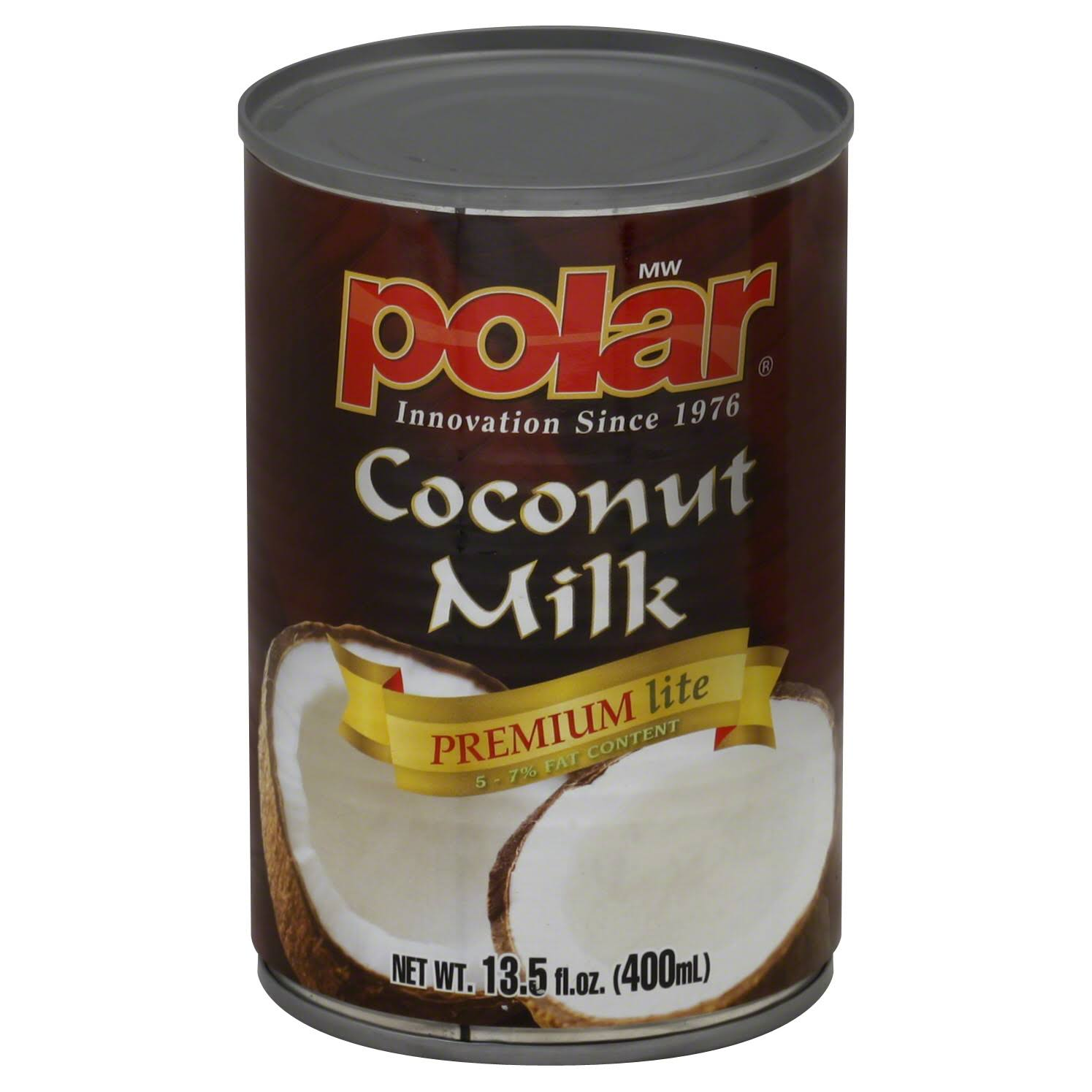 Polar Coconut Milk, Premium Lite - 13.5 fl oz