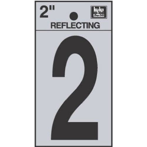 Hy-Ko Products Reflective 2 House Number