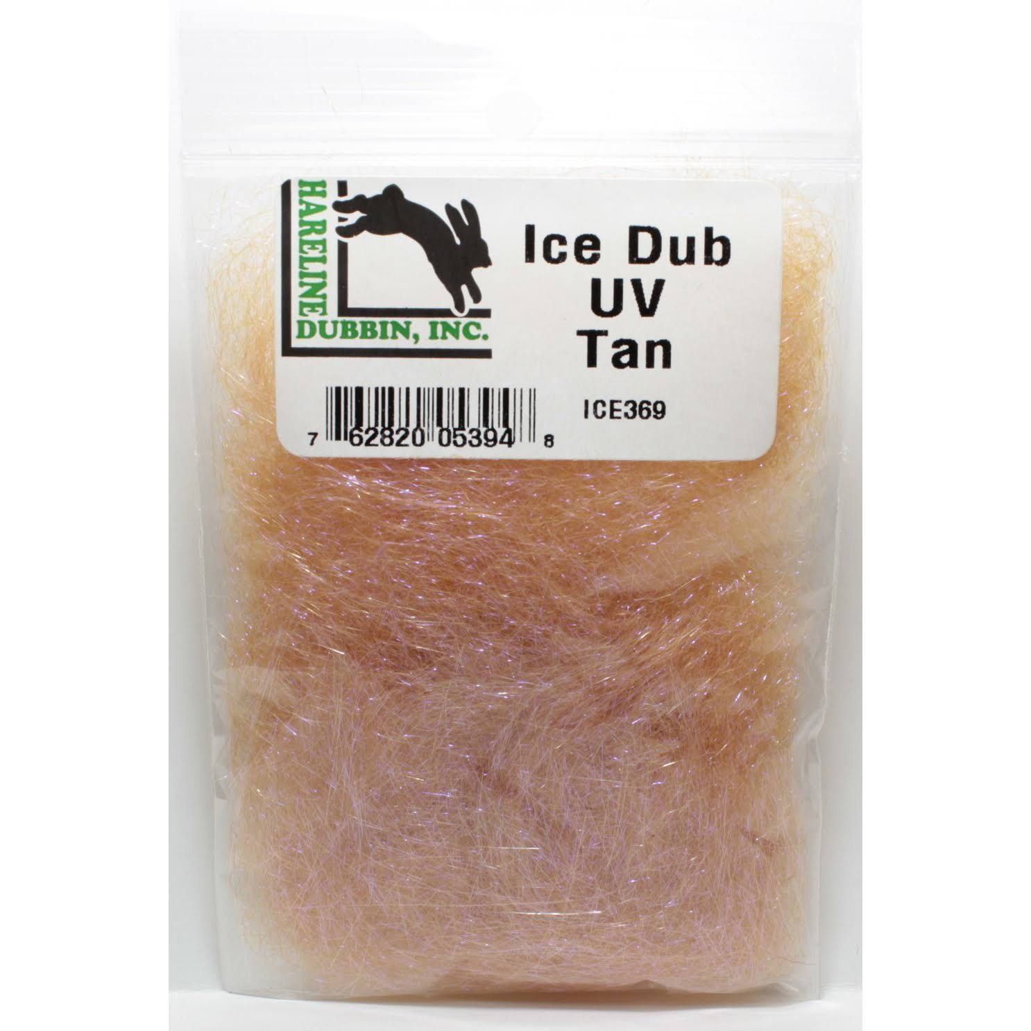 Hareline ICE369 Ice Dub Fly Tying Materials - Tan