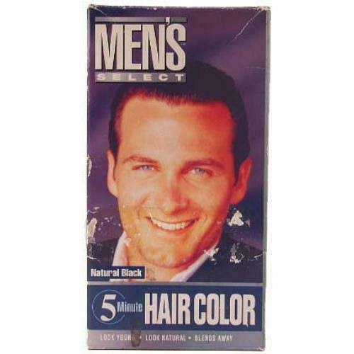 Men's Select Hair color-Black Case 369765