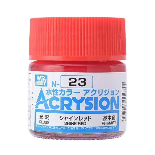 GSI Creos Acrysion: Shine Red (N-23)