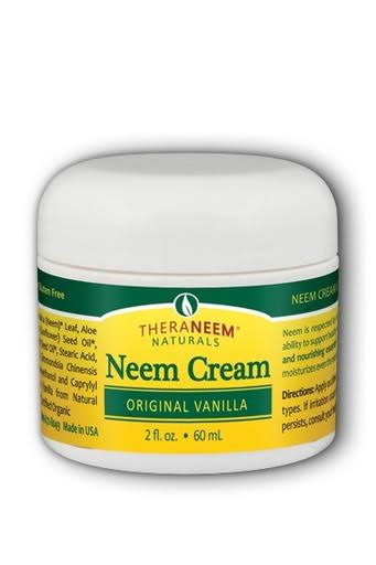 TheraNeem Organix Neem Cream - Original Vanilla