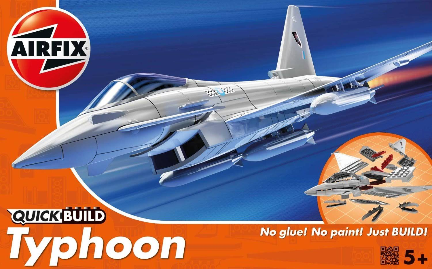 Airfix Quick Build Eurofighter Typhoon Aircraft Model Kit