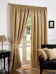 Modern Curtains For Living Room Uk by Gold Floral Curtains Modern Curtains Terrys Fabrics