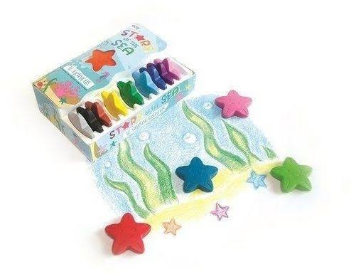 Ooly Stars of the Sea Crayons - 16 Pack