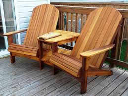 creative of adirondack chair bench free patio chair plans how to