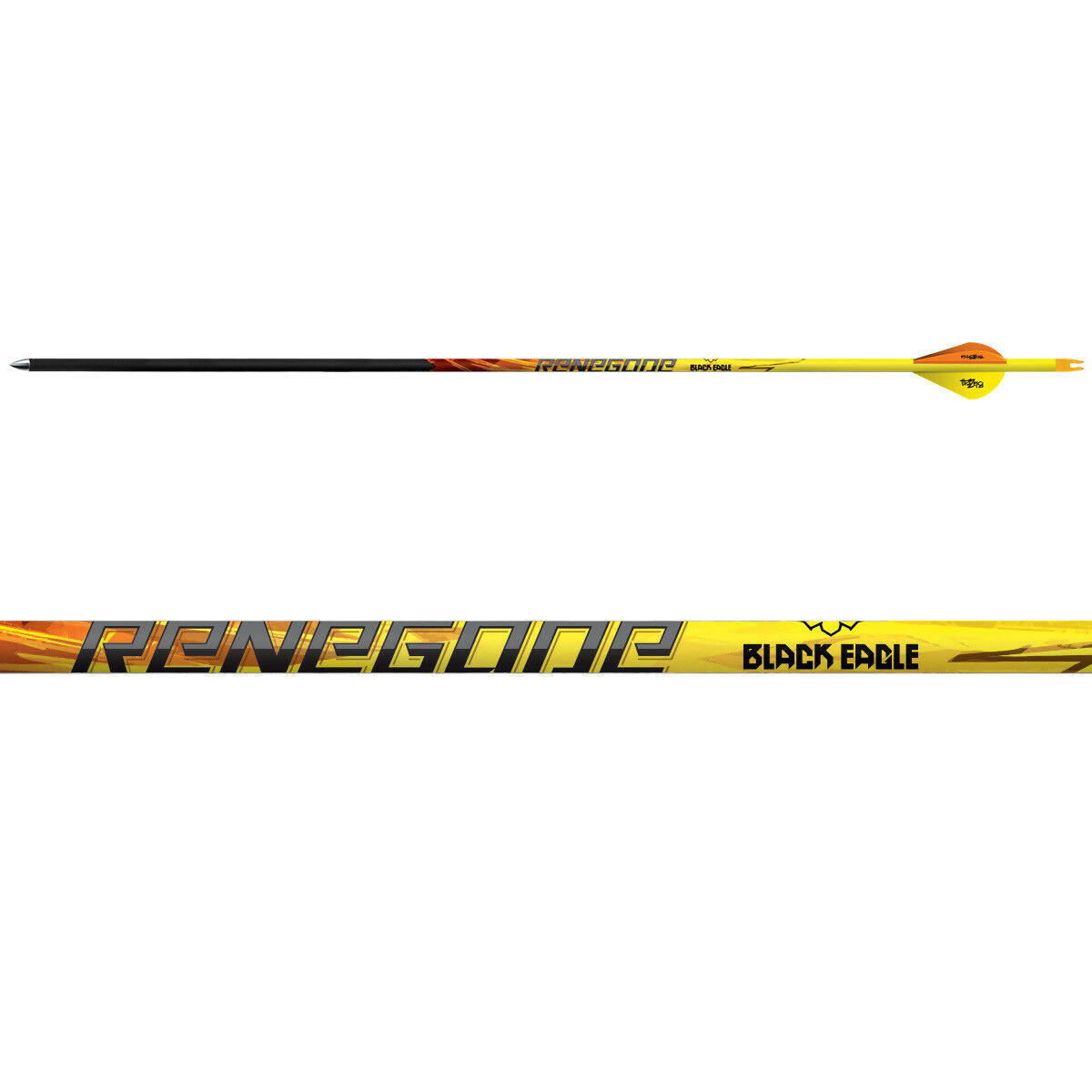 Black Eagle Renegade Fletched Arrows - 6-Pack
