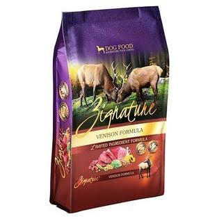Zignature Dry Dog Food Venison - 4 lb