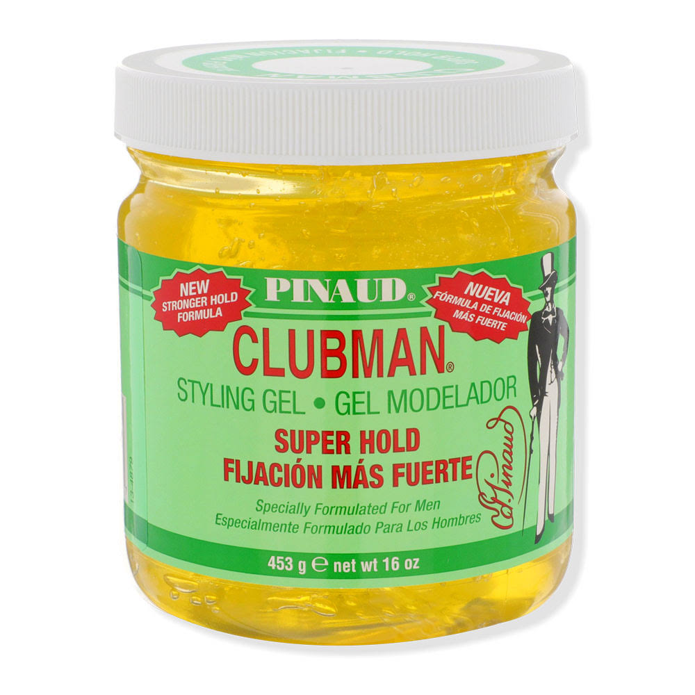 Pinaud Clubman Styling Gel, Superhold - 16 oz
