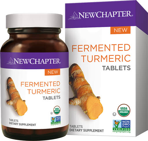 New Chapter - Fermented Turmeric 48 Tablets