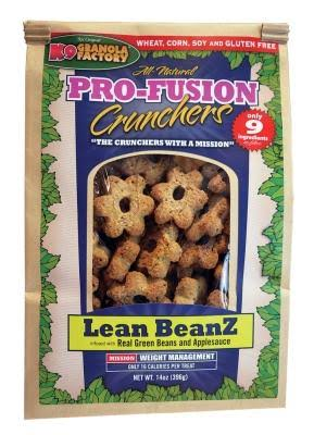 K9 Granola Factory Pro-Fusion Crunchers Lean Beanz Dog Treat
