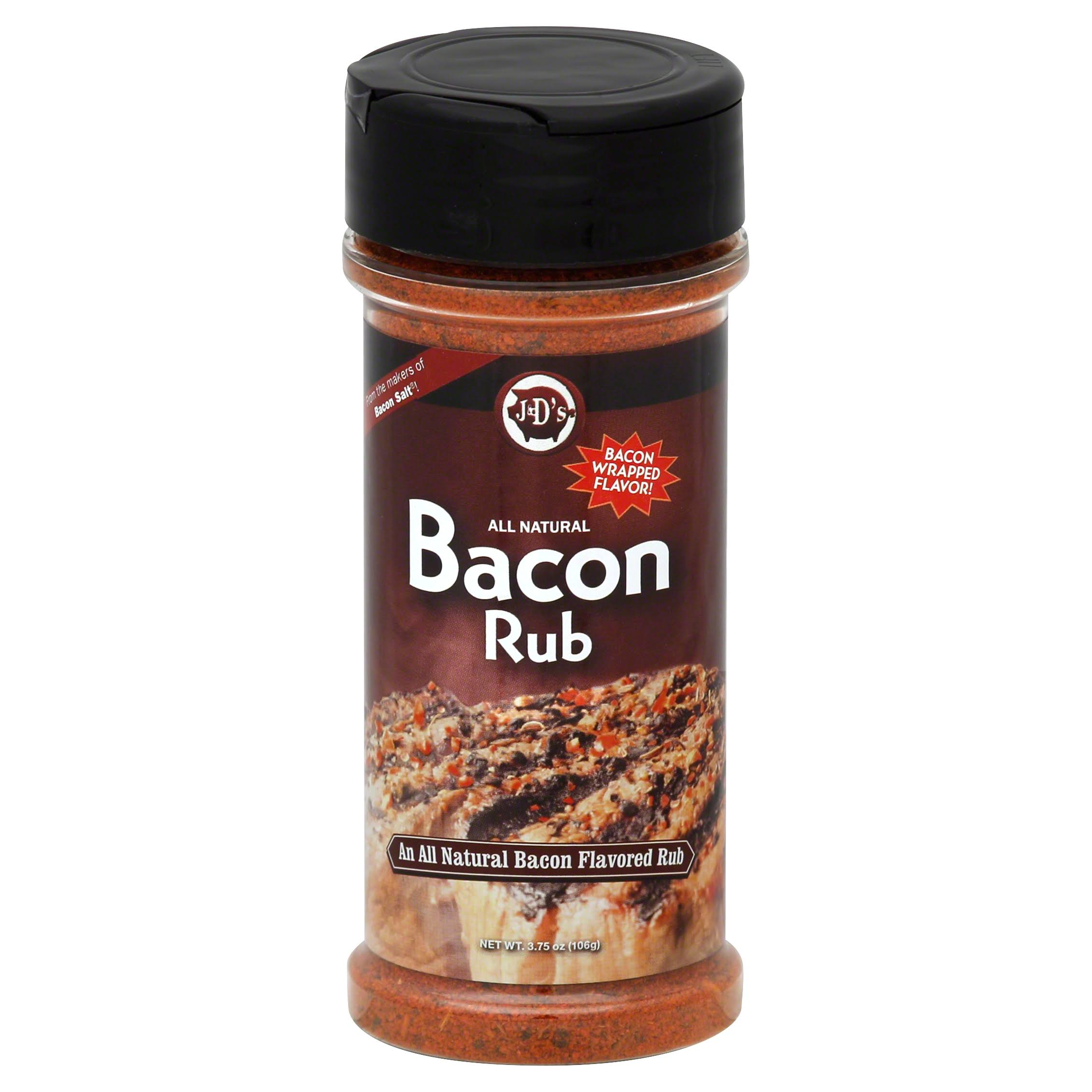 J and Ds Bacon Rub - 3.75oz