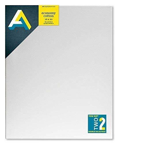 Art Alternatives Economy Stretched Canvas 2 Pack 16x20