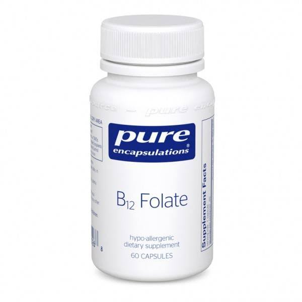 Pure Encapsulations B12 Folate Dietary Supplement - 60ct