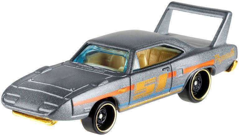 Hot Wheels Satin & Chrome '70 Plymouth Superbird Die-Cast Car