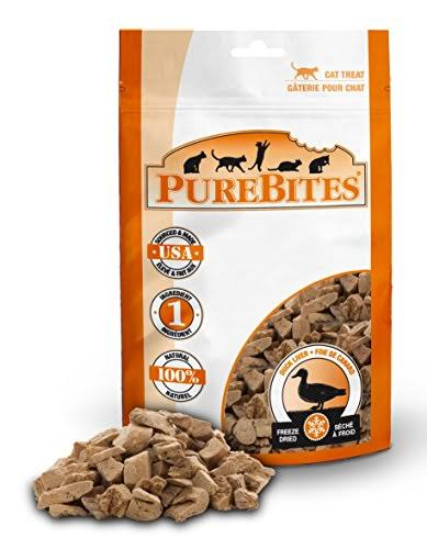 PureBites Cat Treat - Duck Liver, 16g
