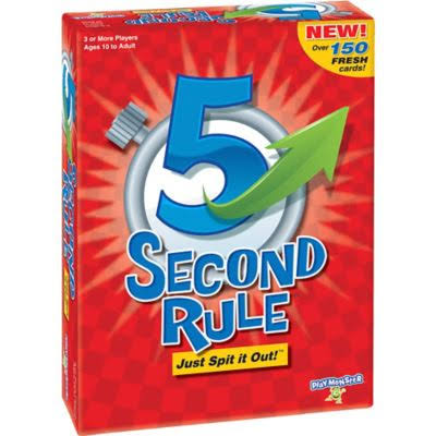 5 Second Rule Game, 5 Second Rule