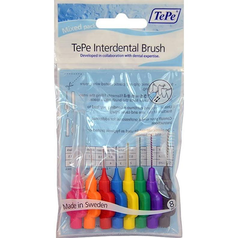 Tepe Interdental Brushes - 8 Pack