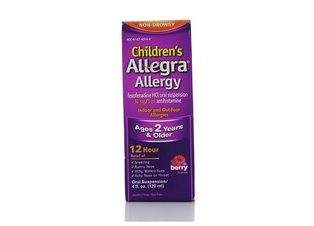 Allegra Children's Allergy Oral Suspension - Berry, 4oz