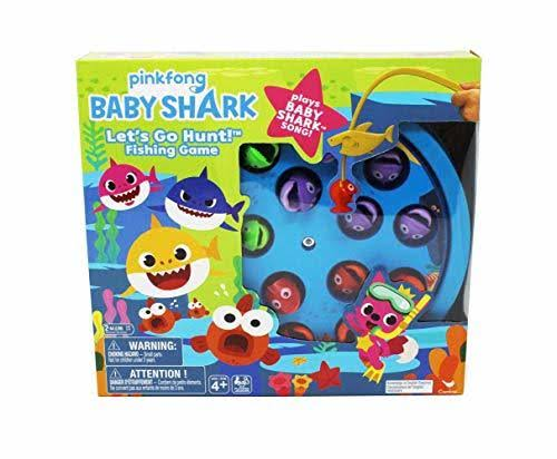 Baby Shark Let's Go Fishing Game