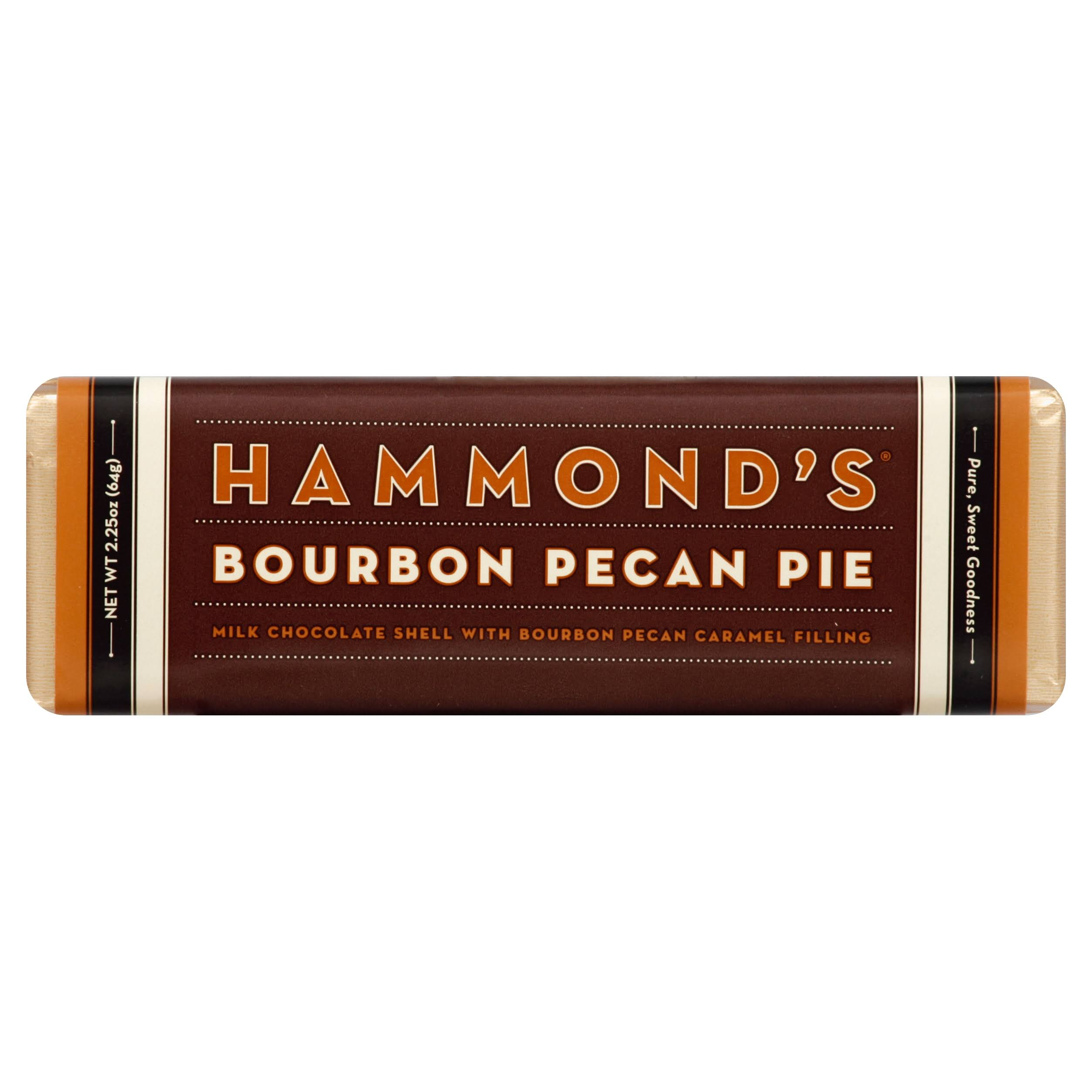 Hammonds Milk Chocolate, with Bourbon Pecan Caramel Filling - 2.25 oz