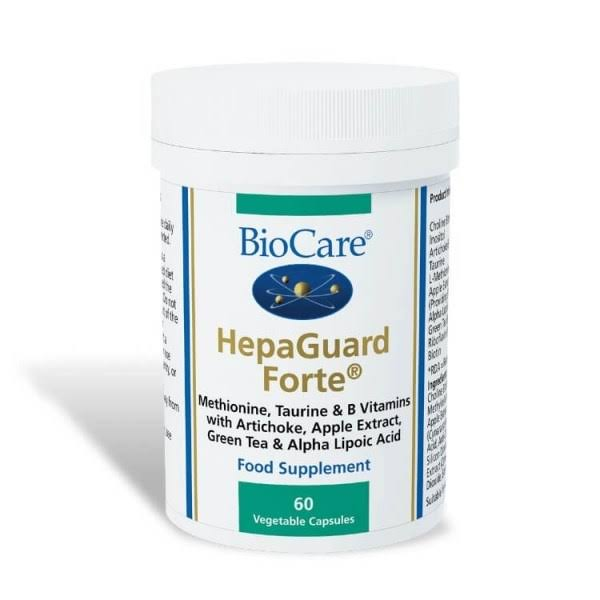 Biocare HepaGuard Forte Food Supplement - x60 capsules