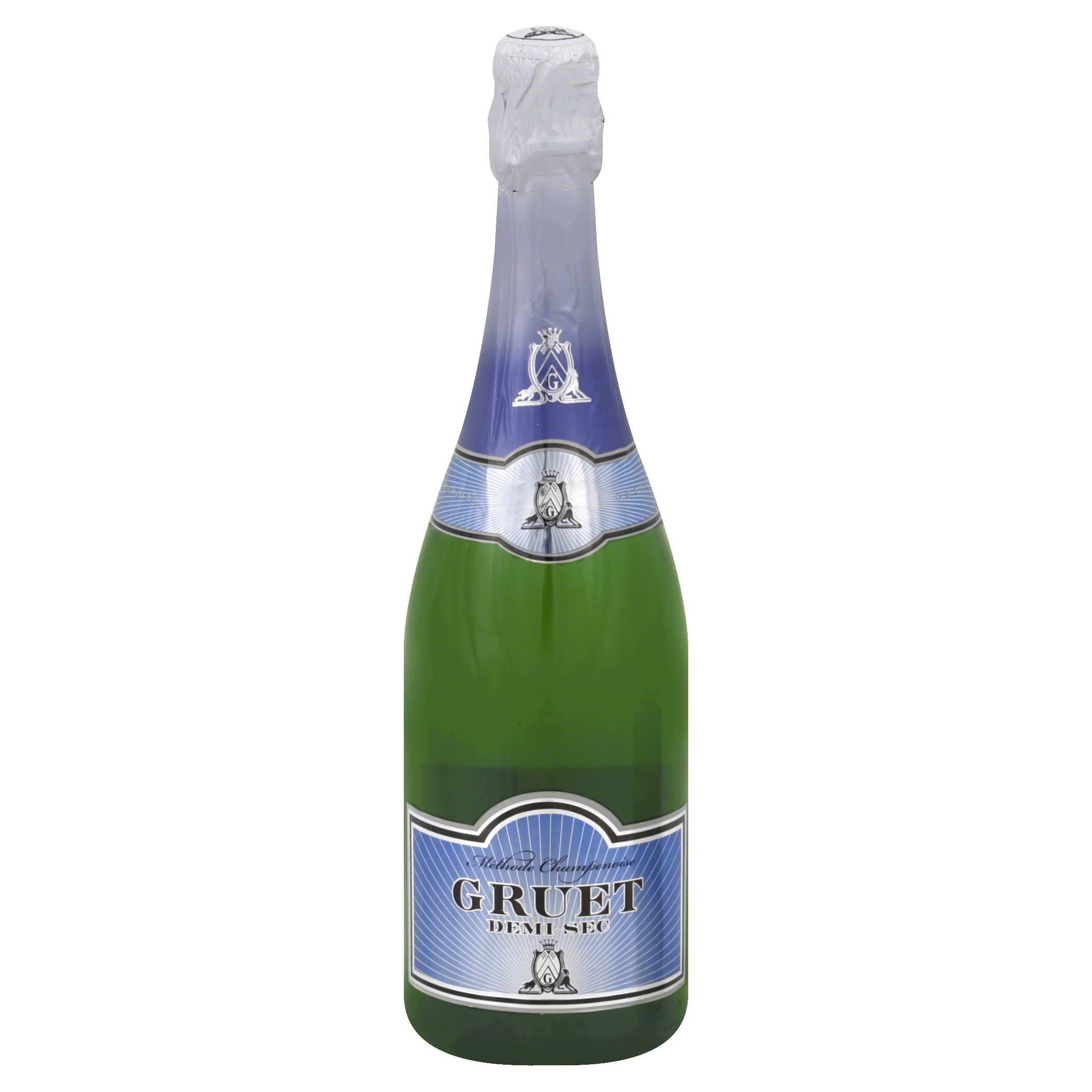 Gruet Sparkling Wine, Demi-Sec - 750 ml