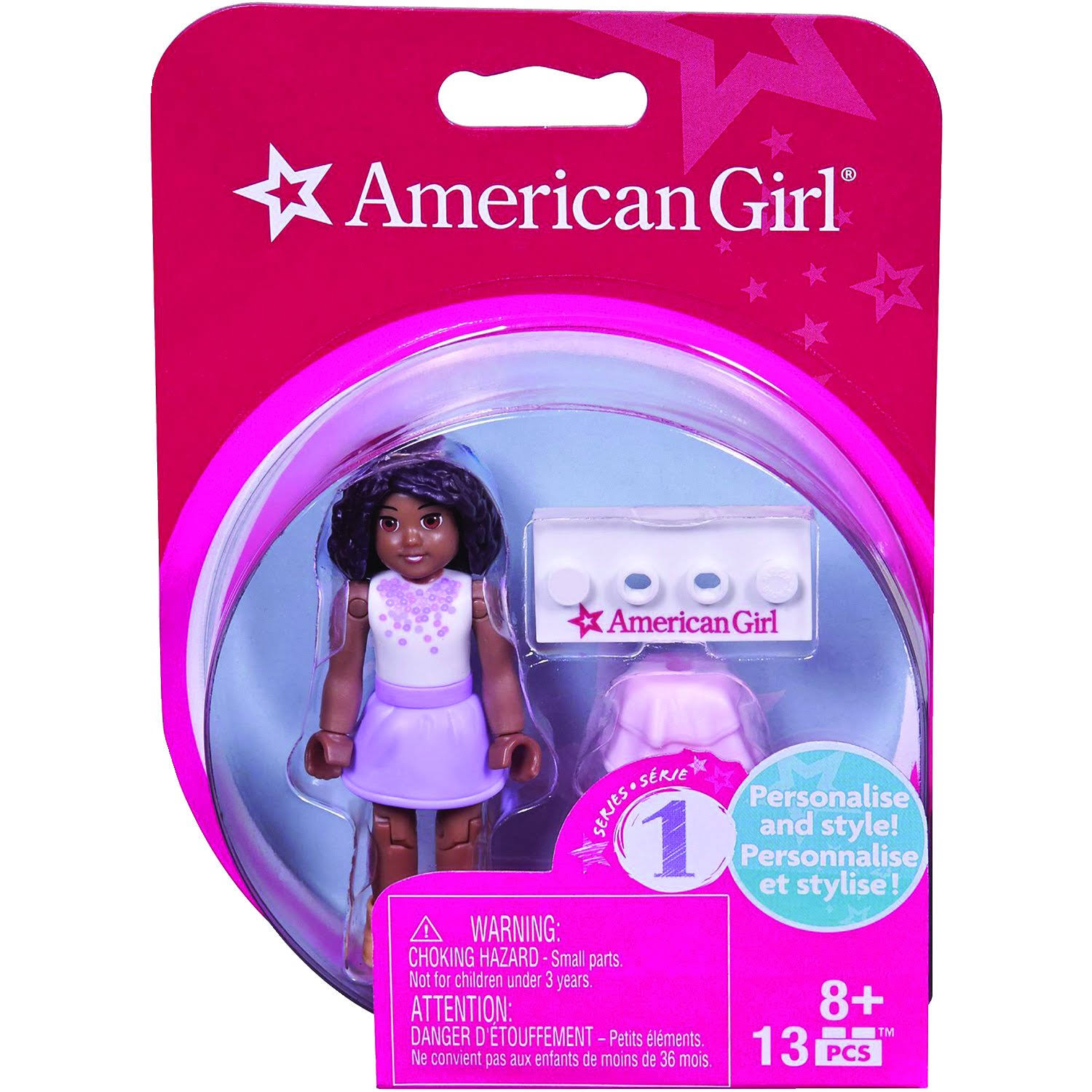 Mega Bloks Series 1 American Girl #4 Collectible Figure