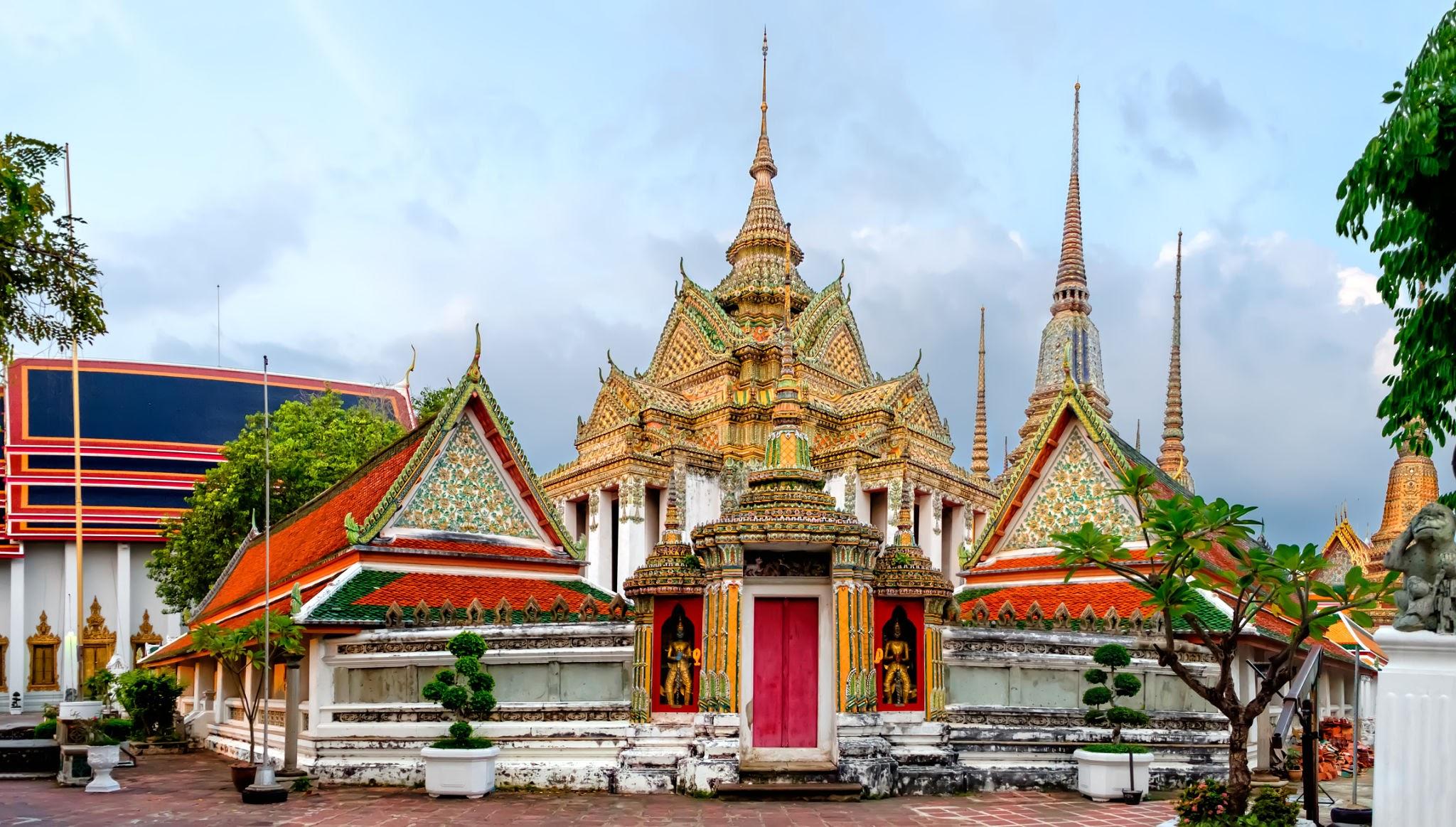 Wat Phra Chetuphon (Wat Pho - reclining Buddha)