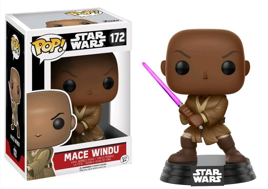 Funko Pop! Star Wars Vinyl Bobble Head - Mace Windu