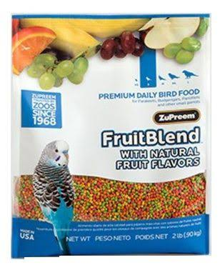 Zupreem Fruit Blend Daily Bird Food - 2 lb
