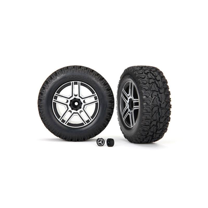 Traxxas Tires and Wheels Assembled Glued TRA8872