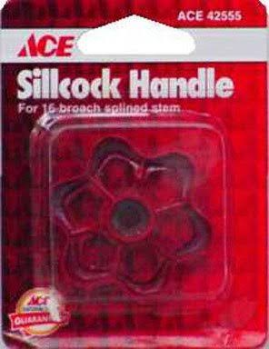 Ace Wheel Handle & Round Hole - Red