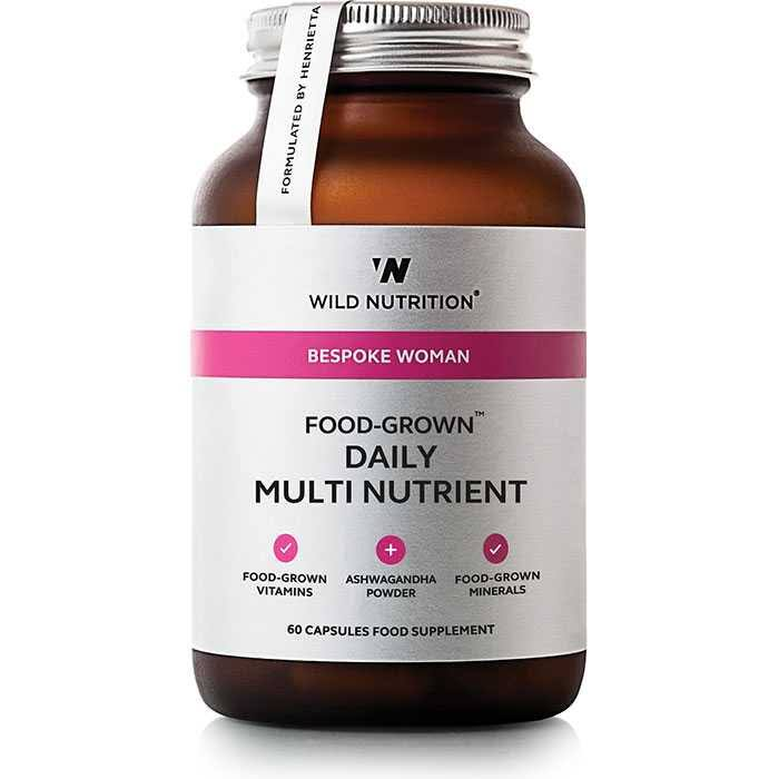 Wild Nutrition Bespoke Woman Food-Grown Daily Multi Nutrient 60 Caps