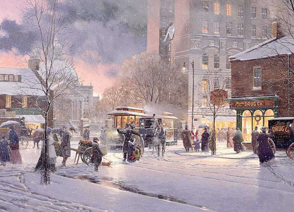 Cobble Hill Puzzles - Winter Flurry 1,000-Piece Puzzle