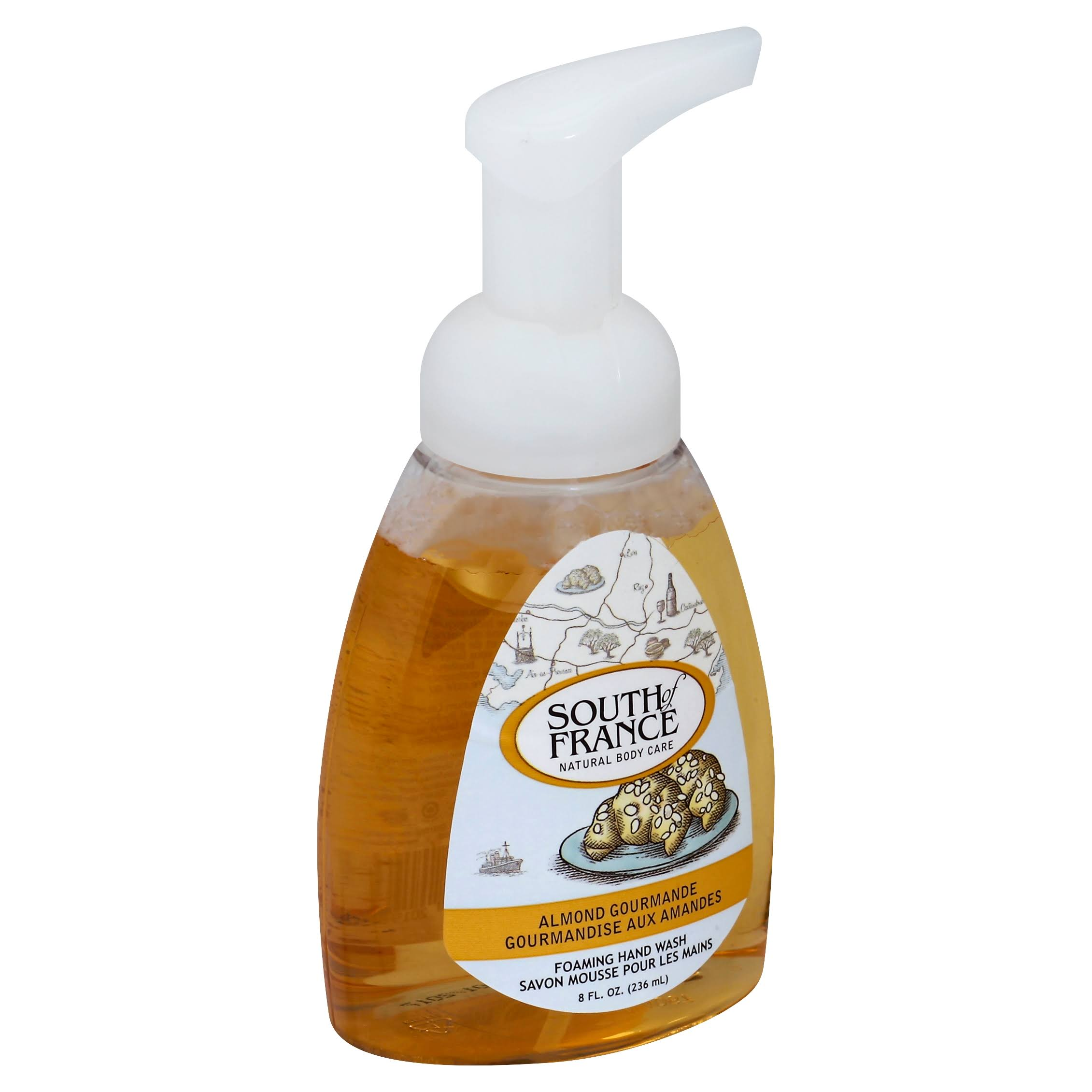 South Of France Foaming Hand Wash - Almond Gourmande, 236ml