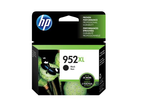 HP 952xl Ink Cartridge - Black, High Yield