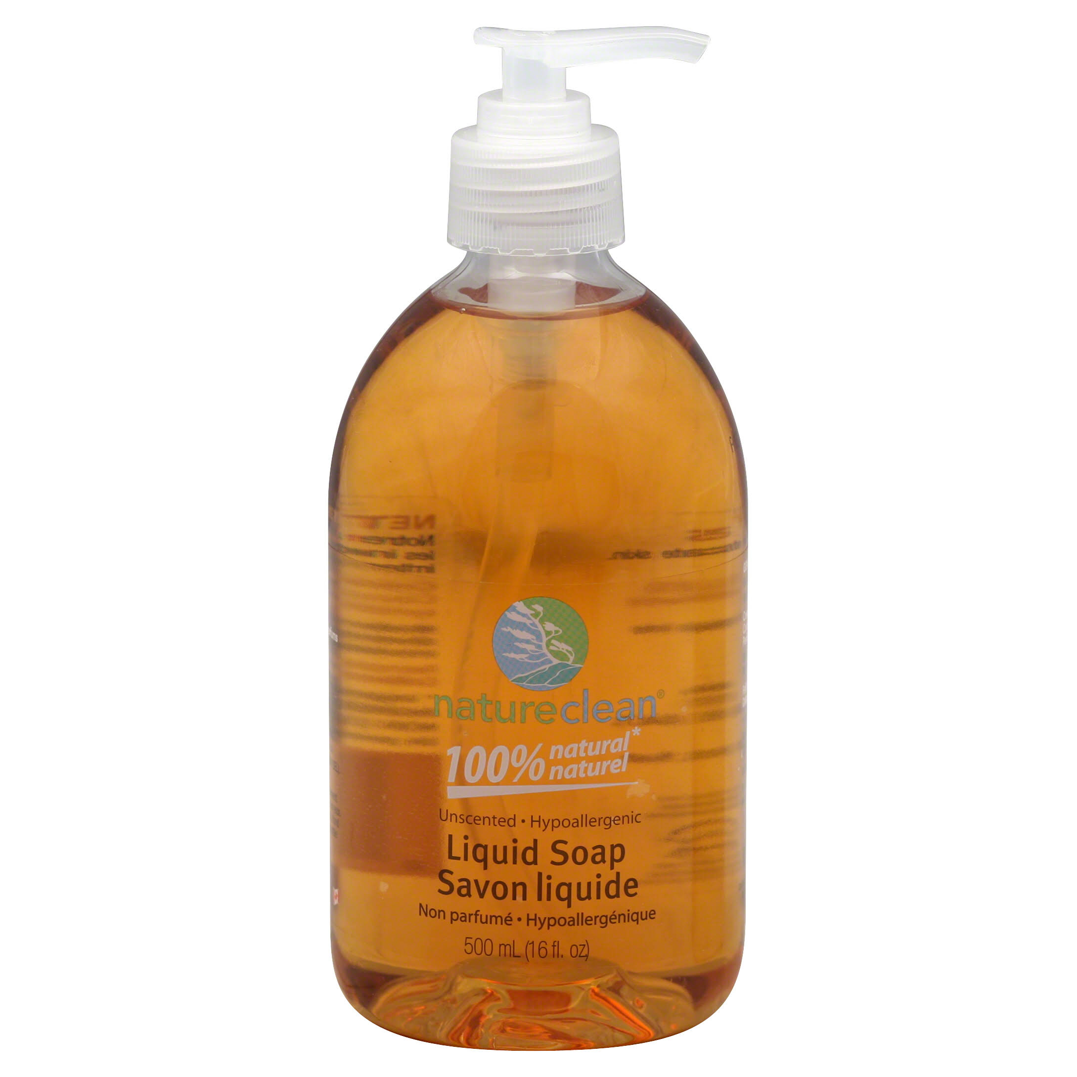 Nature Clean Unscented Liquid Hand Soap - 16.8oz