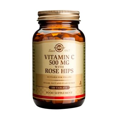 Solgar Vitamin C with Rose Hips Tablets
