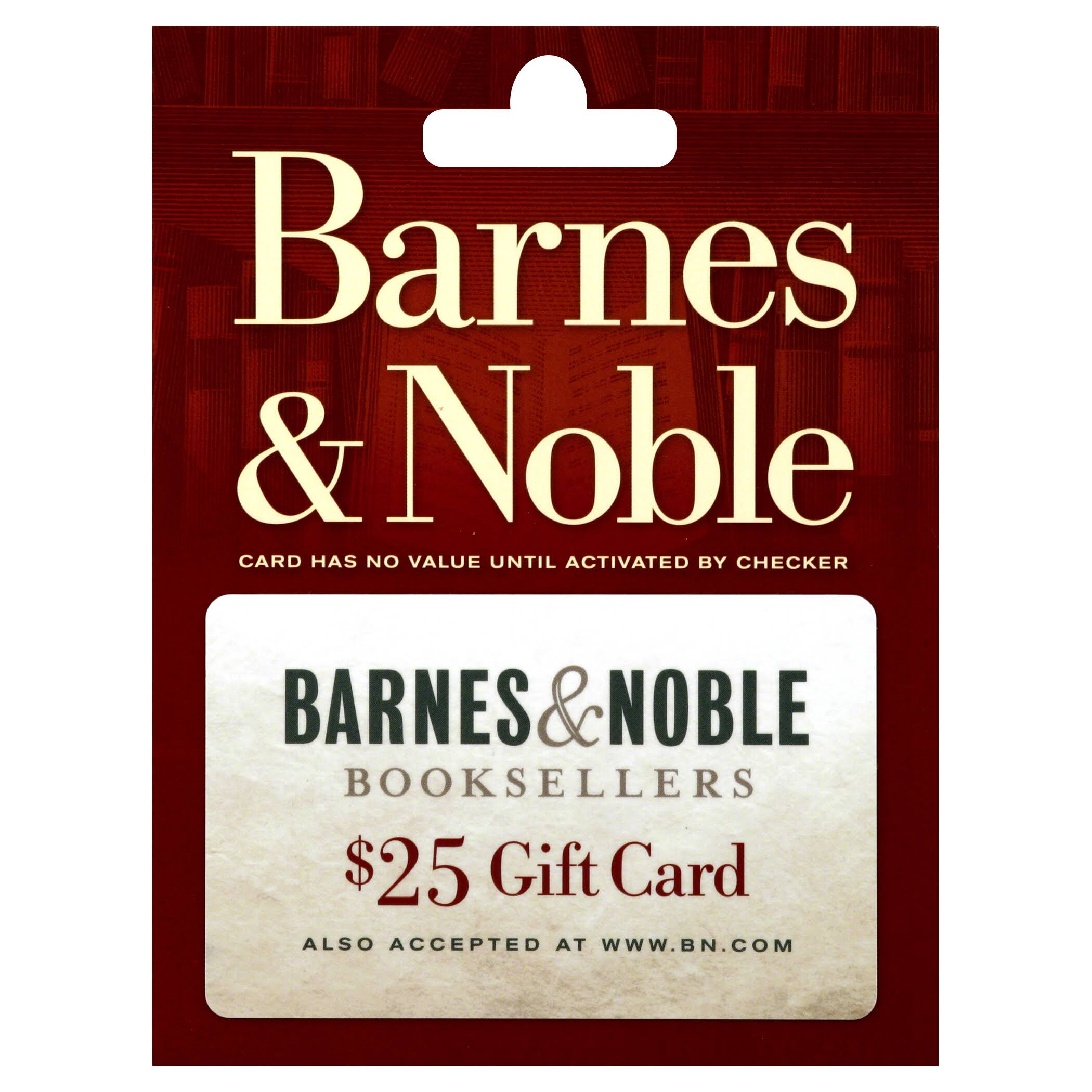 Barnes and Noble Gift Card - $25