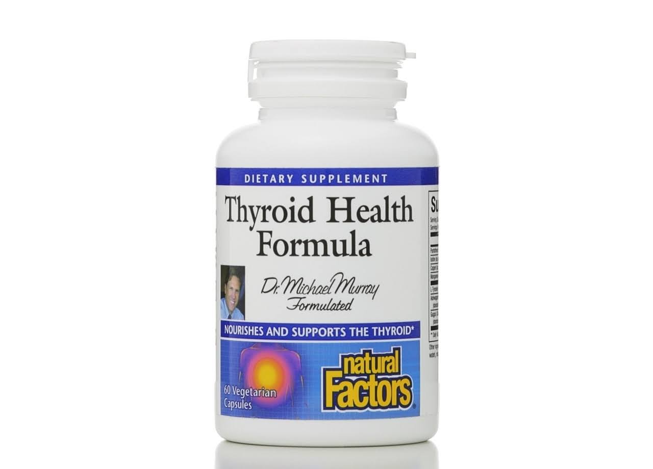 Natural Factors Thyroid Health Formula - 60 Vcaps