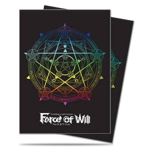Ultra Pro Deck Protector Sleeves - Force of Will Magic Circle, Standard Size, x65