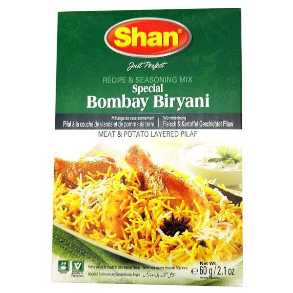 Shan Recipe & Seasoning Mix, Special Bombay Biryani - 60 g