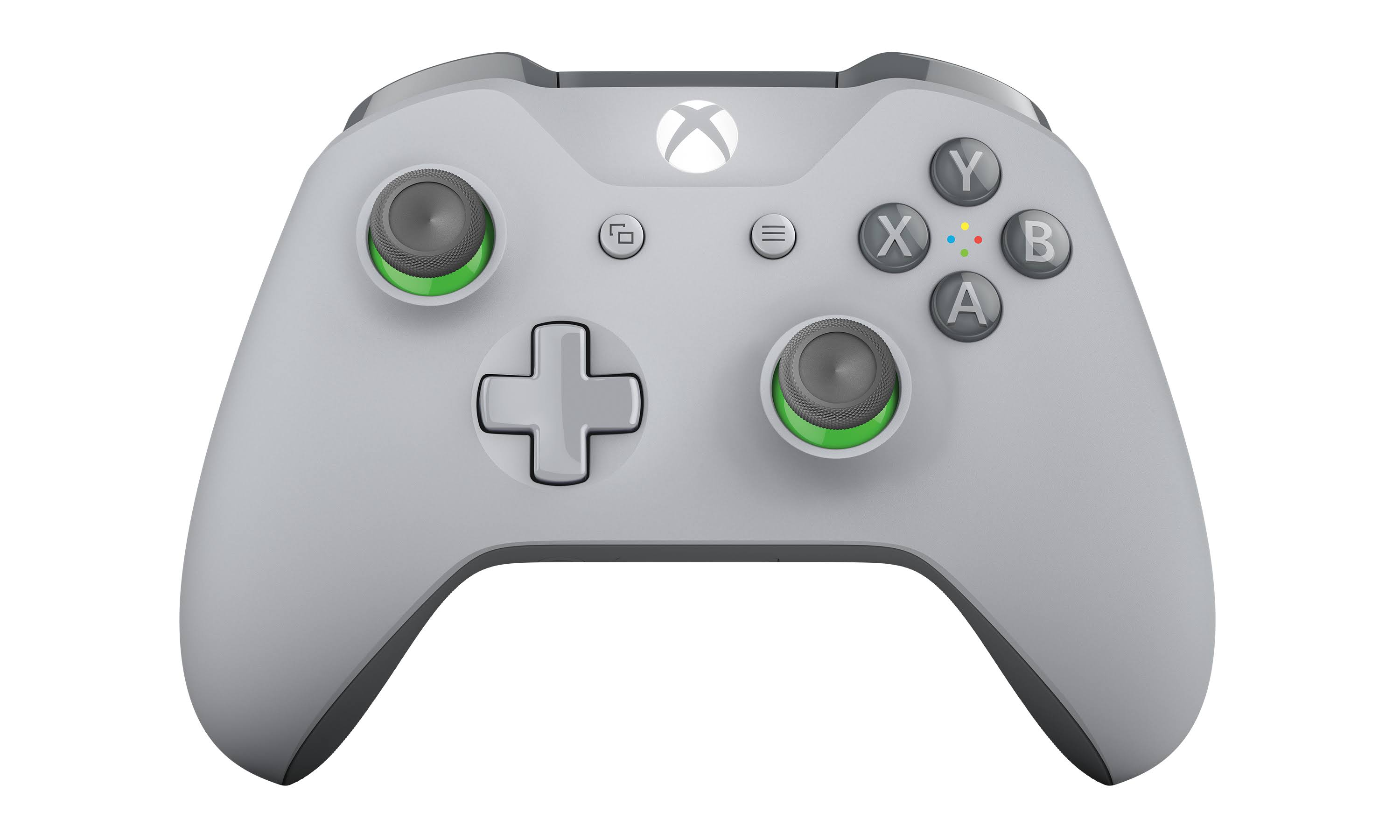 Xbox One Wireless Controller - 2016 Version, Gray/Green