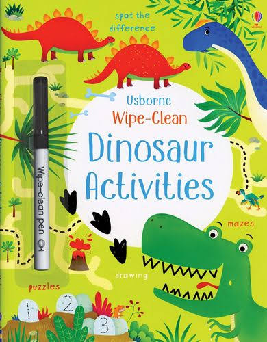 Wipe-Clean Dinosaur Activities - Kirsteen Robson, Dania Florino