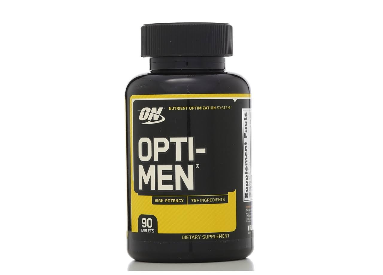 Optimum Nutrition Opti-Men Supplement - 90 Tablets