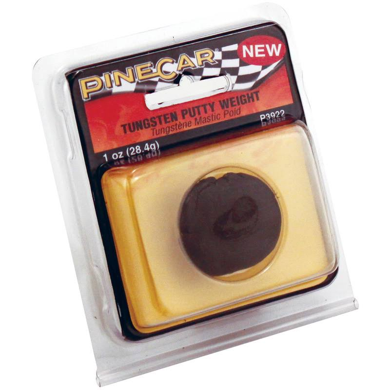 Woodland Scenics P3922 Pine Car Weights Tungsten Putty - 30ml