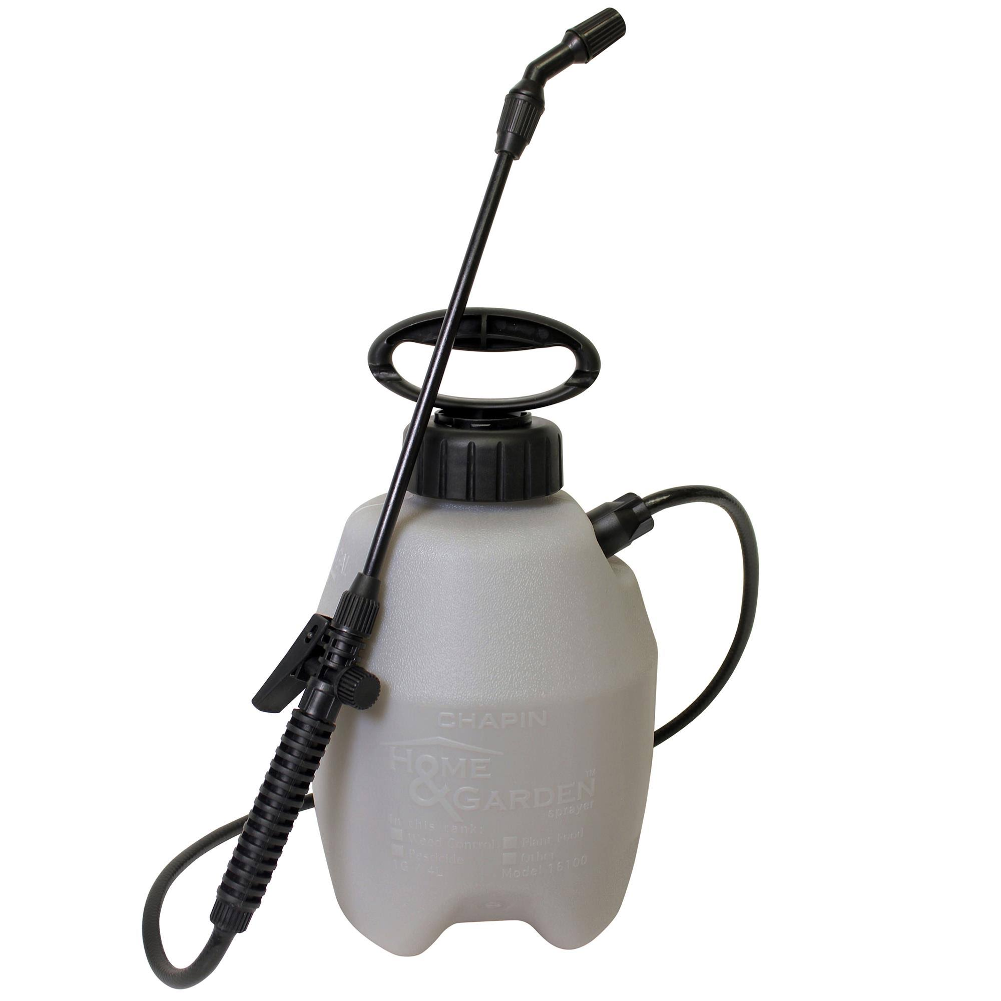 "Chapin Home and Garden Poly Tank Pump Sprayer - 1 Gallon, with 16"" Wand"