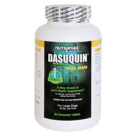 Dasuquin Msm Chewable Tablets - for Large Dogs, 84ct